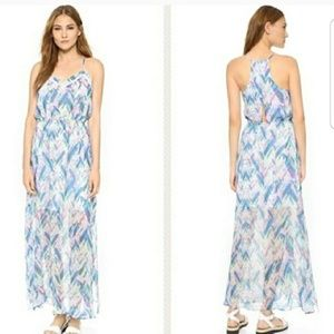 Cupcakes and Cashmere Indio Chiffon Maxi Dress